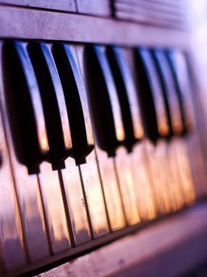 钢琴手机壁纸