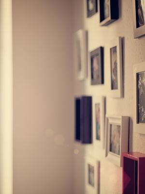 画廊墙移动壁纸