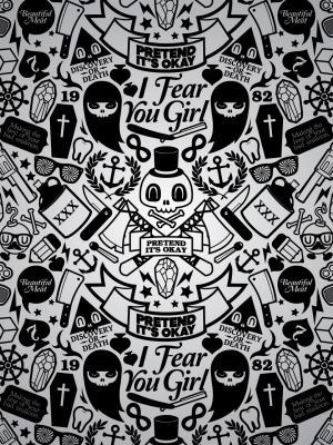 艺术时髦手机壁纸