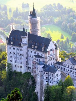 巴伐利亚城堡手机壁纸