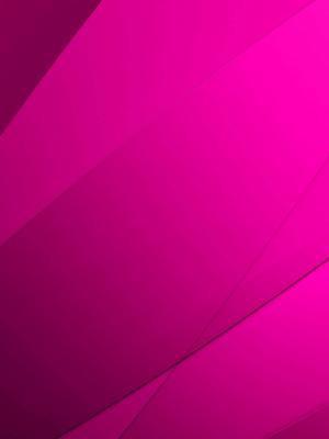 简单的热粉色线条移动壁纸