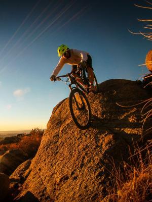 山地自行车手机壁纸