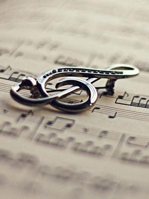 图书小提琴关键音乐手机壁纸