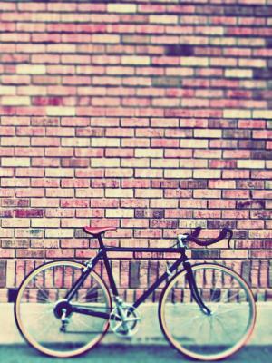 复古自行车手机壁纸