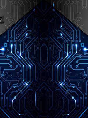 抽象电子手机壁纸