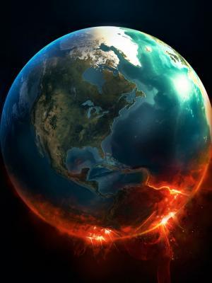 消防地球现在移动墙纸