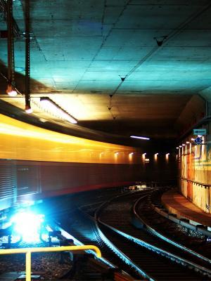 火车城市移动壁纸