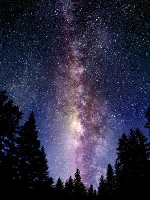 银河系移动壁纸
