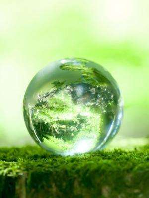 绿色星球手机壁纸