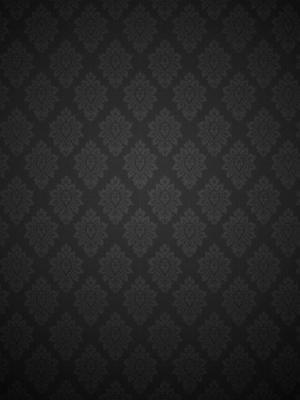 黑色巴洛克式的模式移动壁纸