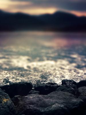 水日落移动壁纸