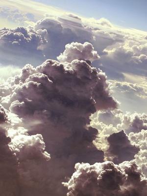 云彩艺术品移动墙纸