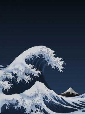 Japan-paintingsi手机壁纸