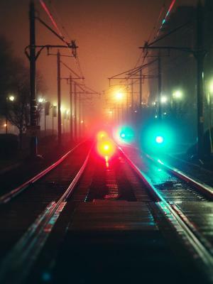 都市风景夜移动墙纸