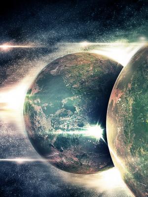 外层空间行星星星手机壁纸