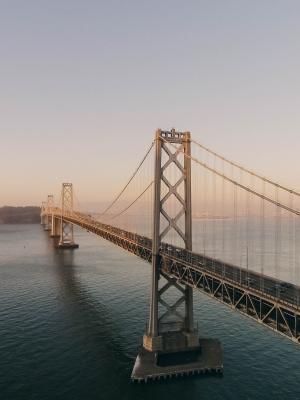 海湾桥移动墙纸