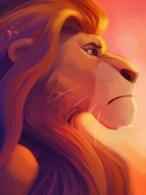 狮王simba移动壁纸