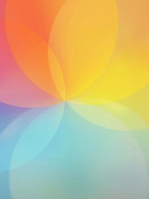 彩虹花移动壁纸
