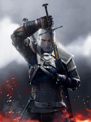 巫师3野狩猎Geralt 2015年移动壁纸