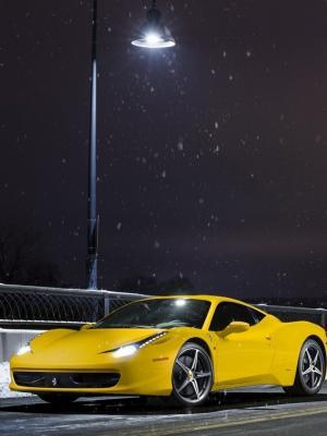 法拉利458手机壁纸