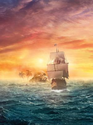 海盗帆移动壁纸