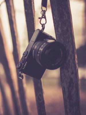 Lumix相机喜科技围栏移动壁纸
