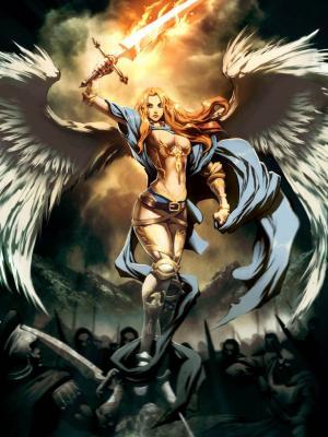 天使翅膀Genzoman手机壁纸