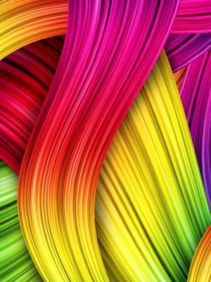 抽象的颜色移动壁纸