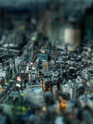 东京都市风景手机壁纸