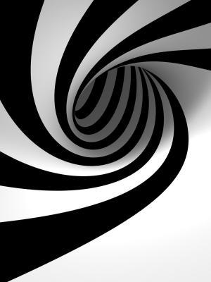 抽象的3D视图移动壁纸