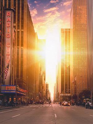 纽约城建筑移动壁纸