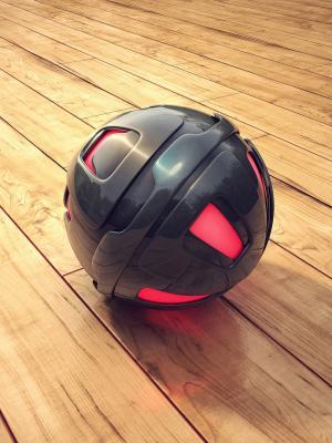 3D球体手机壁纸