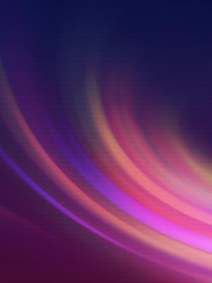 多彩曲线手机壁纸