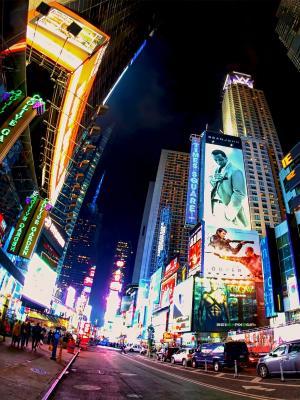 夜城市移动壁纸