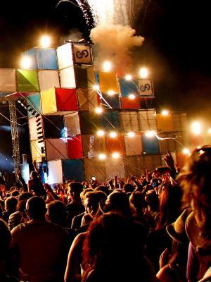 音乐人群手机壁纸