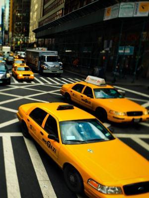 纽约出租车移动壁纸