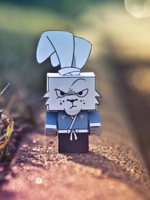 疯狂的忍者兔子手机壁纸