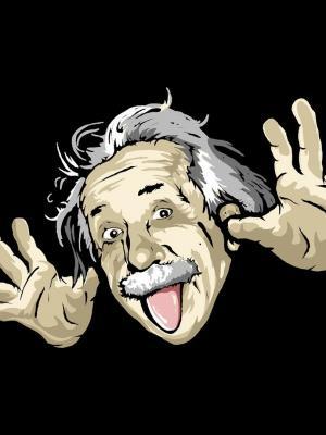 阿尔伯特·爱因斯坦手机壁纸