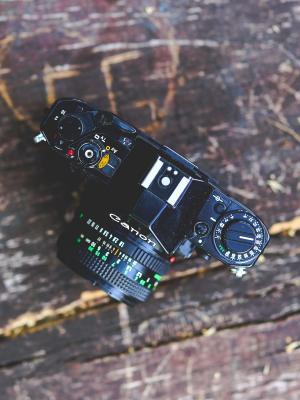 相机摄影复古老移动壁纸